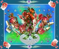 douces pensées-bisous fleurs de lynea