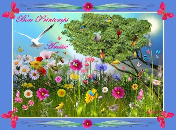 bon printemps-amitié de lynea