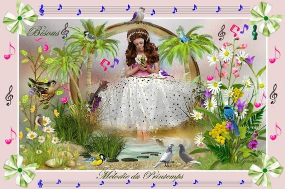 La mélodie du printemps-bisous de lynea