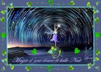 magie d'une douce nuit fée de lynea