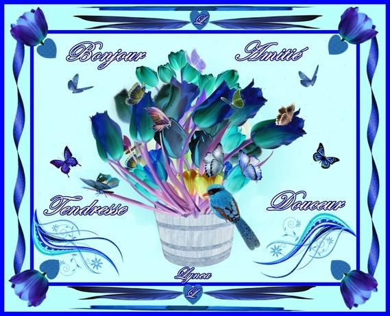 bonjour-amitié-tendresse-douceur fleurs de lynea