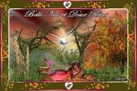 belle nuit et doux rêves fée de lynea
