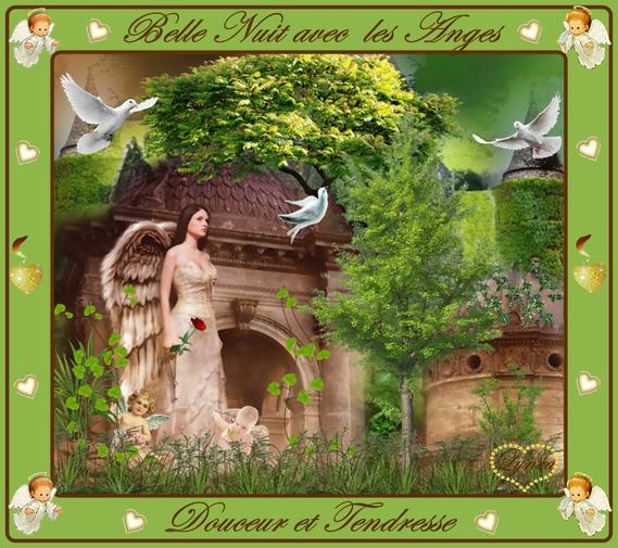 belle nuit avec les Anges-lynea