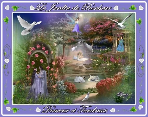 le jardin du bonheur-tendresse et douceur-lynea