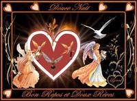 douce nuit-bon repos-fées et anges de lynea