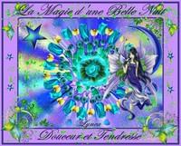 la magie d'une belle nuit-douceur et tendresse-lynea