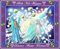 belle nuit magique-tendresse-amitié-douceur de lynea