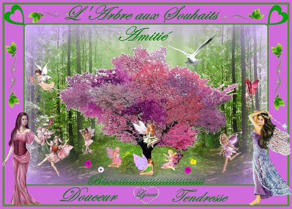 arbre aux souhaits de Lynea
