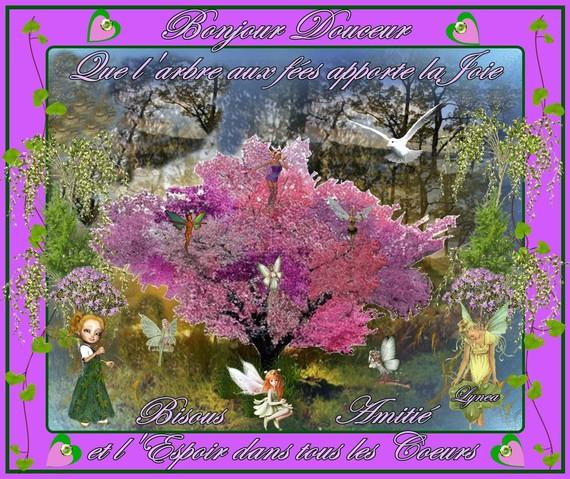 bonjour douceur-arbre aux fées-lynea