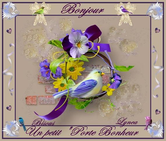 bonjour-un petit porte bonheur oiseau de lynea
