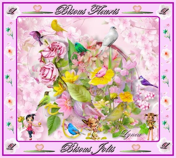 bisous fleuris-bisous jolis-lynea