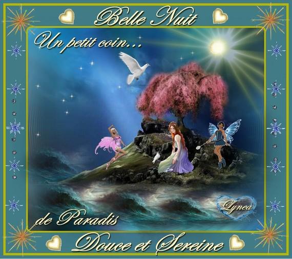 belle nuit douce et sereine-paradis-lynea