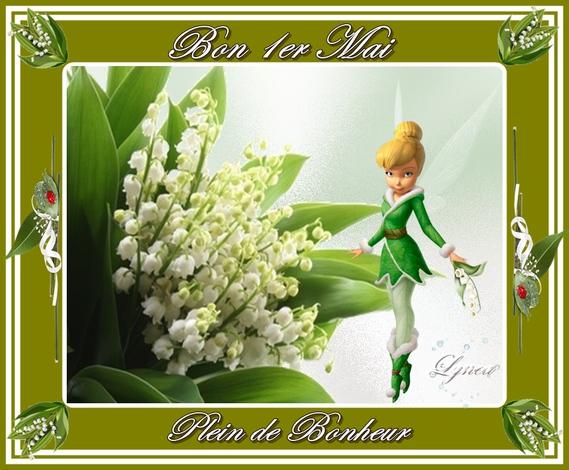 Bon 1er Mai-Plein de Bonheur de Lynea