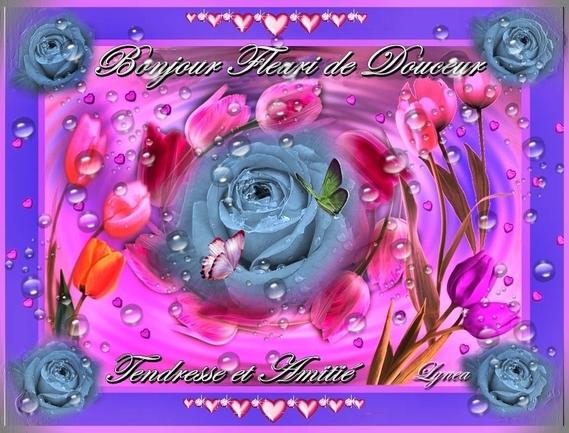 bonjour fleuri de douceur-lynea