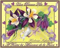 une bonne fête à toutes les mamans de la terre-tendresse infinie de lynea