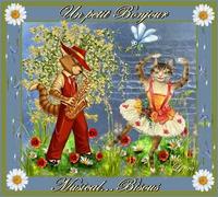 bonjour musical-bisous de Lynea