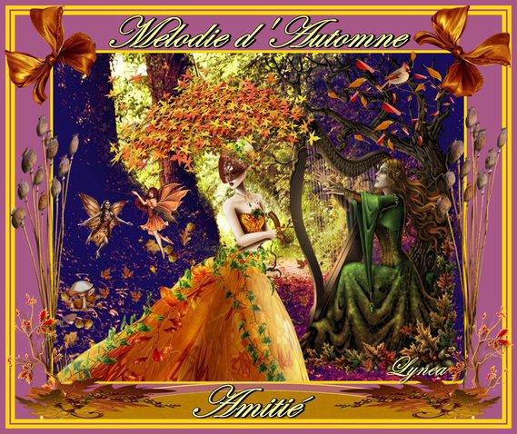 mélodie d'automne-amitié de lynea