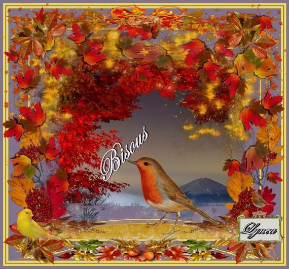 Bisous automne de lynea