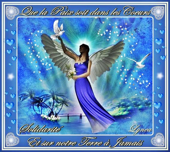 paix sur la terre-solidarité de Lynea