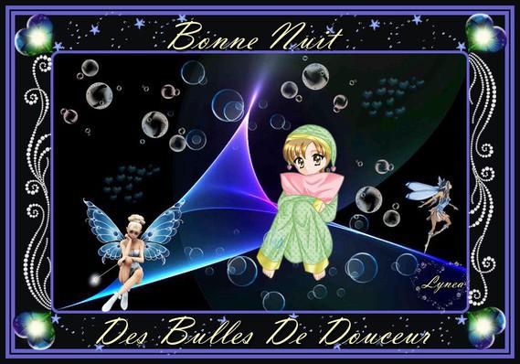 bonne nuit-des bulles de douceur-lynea