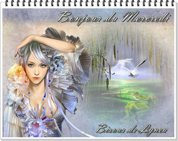 bonjour du mercredi-bisous de Lynea