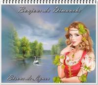 Bonjour du Dimanche- Bisous de Lynea