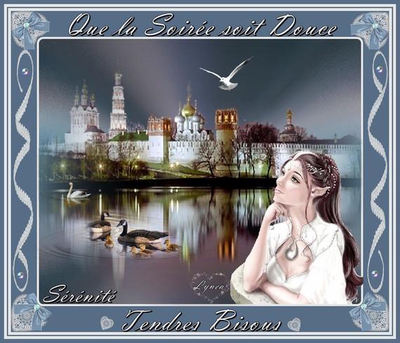 Douce soirée-sérénite-bisous de Lynea