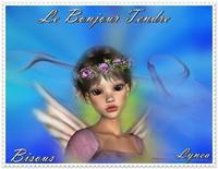 bonjour tendre-bisous de Lynea