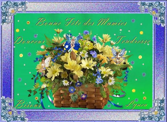 Bonne fête des Mamies-tendresse-douceur, bisous de Lynea-00