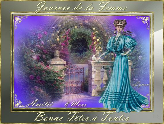 Journée de la Femme-Bonne Fête à Toutes -8 mars- Amitié de Lynea