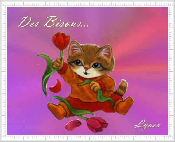 Des bisous de Lynea