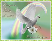 bonjour-paix-amitié-bisous de Lynea