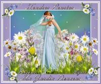 tendres pensées-un jardin douceur-bisous de Lynea