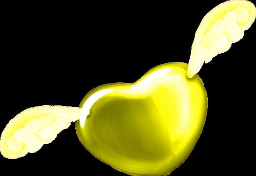 jaune ailes
