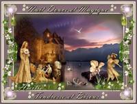 Nuit douce et magique-tendresse et bisous de Lynea