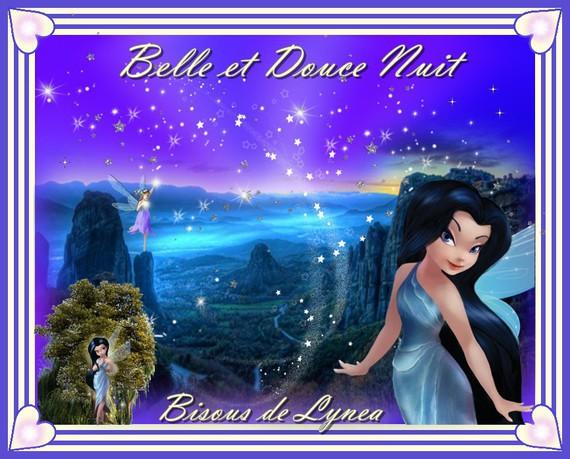 Belle et douce nuit-Bisous de Lynea