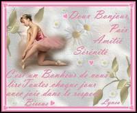 Doux bonjour---paix-amitié-sérénité-bisous de Lynea
