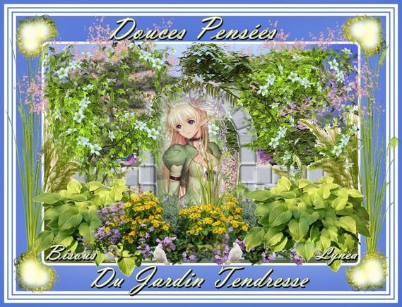 Douces Pensées du Jardin Tendresse Bisous de Lynea