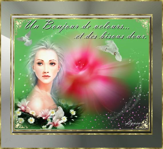 Bonjour de velors et bisous doux de Lynea