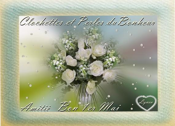 Clochettes et Perles du Bonheur-Bon 1er Mai-Amitié de Lynea