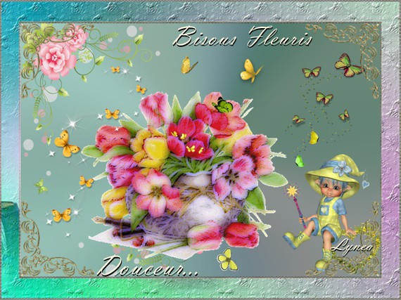 Bisous fleuris-Douceur de Lynea