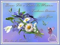 Bonne Fête à Toutes les Mamans---des tas de bisous-Lynea