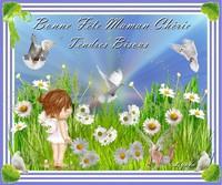 Bonne Fête Maman Chérie-Tendres Bisous de Lynea