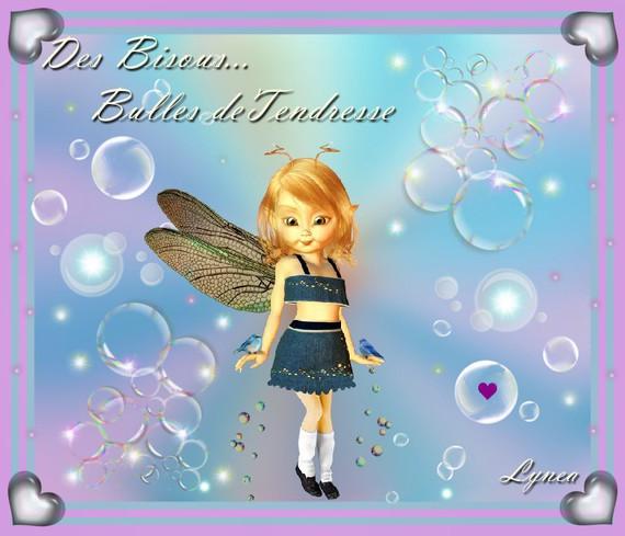 Bisous bulles de Tendresse-Lynea