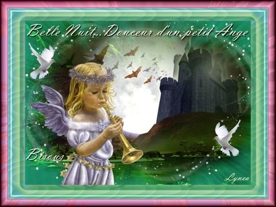 Belle Nuit, Douceur d'un petit Ange-Bisous de Lynea