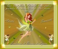 Merci-Amitié Sincérité-Bisous de Lynea