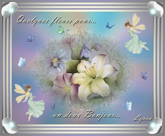 Quelques fleurs pour un Bonjour-Lynea