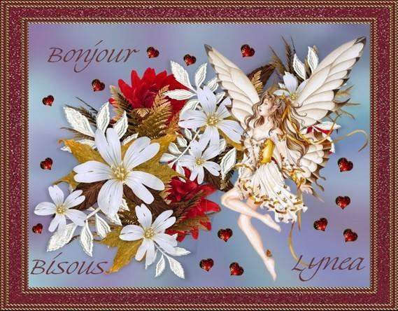 Bonjour - Bisous--Lynea