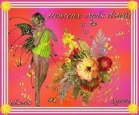 Heureux mois d'Aout---bisous de Lynea