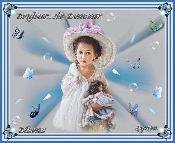 Bonjour de douceur-bisous de Lynea
